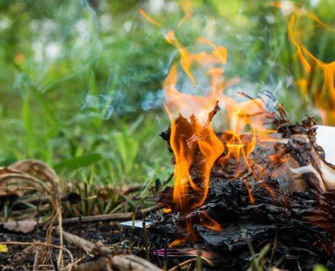 Flame retardant solution